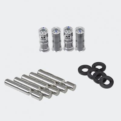Set de réparation de paumelle de porte (paumelles en 2 parties), 209810